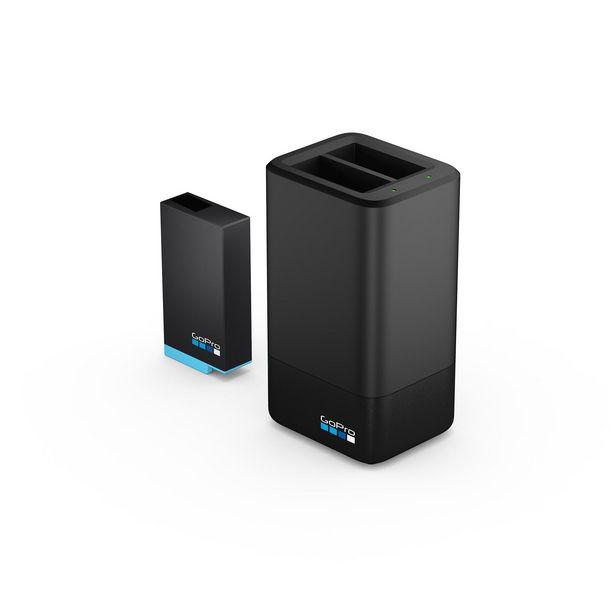 Oferta de Cargador cámara deportiva - GoPro ACDBD-001-EU, Más batería GoPro MAX recargable, Negro por 55,99€