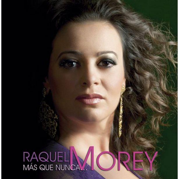 Oferta de Raquel Morey - Más Que Nunca...Morey - CD por 1€