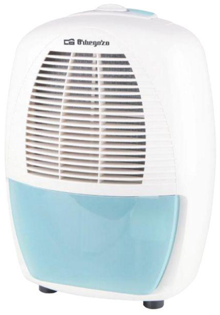 Oferta de Deshumidificador - Orbegozo DH 1235, Capacidad 2.5 L, Indicador LED, Blanco por 224€