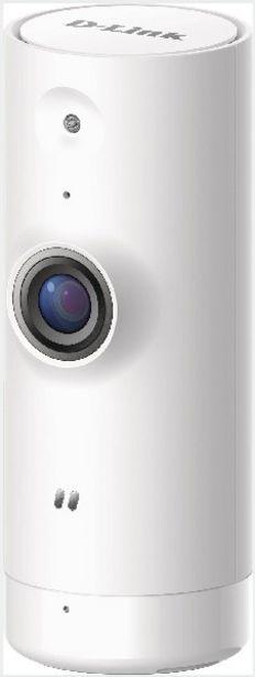 Oferta de Cámara IP - D-LINK mydlink Mini HD, 720p, LED infrarrojos, WiFi, Blanco, domótica por 44,09€