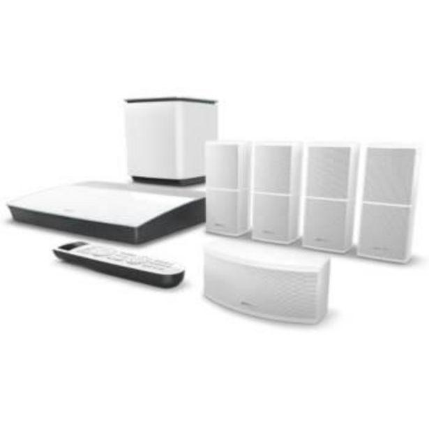 Oferta de Home cinema - Bose Lifestyle 600, 5.1, Bluetooth, WiFi, HDMI, 4K, blanco por 2931,65€