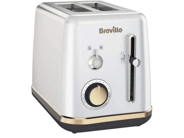 Oferta de Tostadora - Breville VTT935X, 980 W, 2 Rebanadas, Función descongelación y Recalentado, Plata por 23,99€