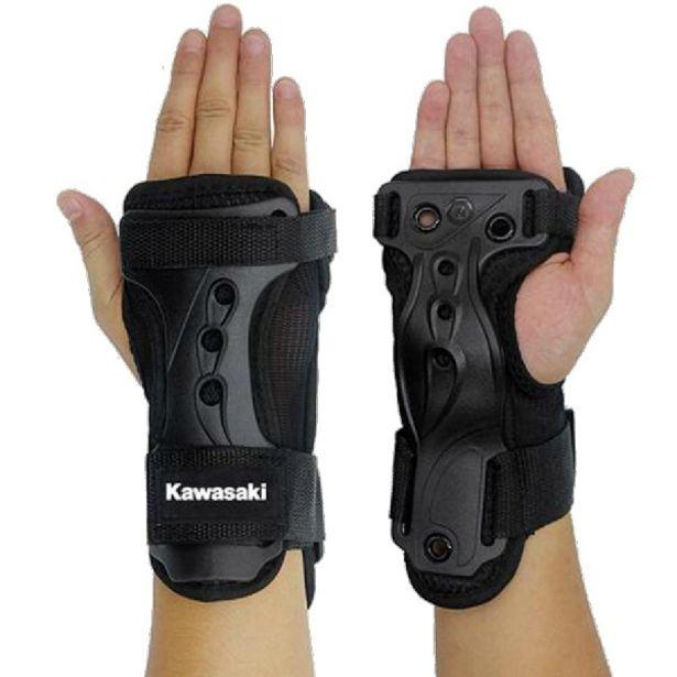 Oferta de Protector de muñeca y manos - Kawasaki KXPC02, Talla M, Negro por 10,39€