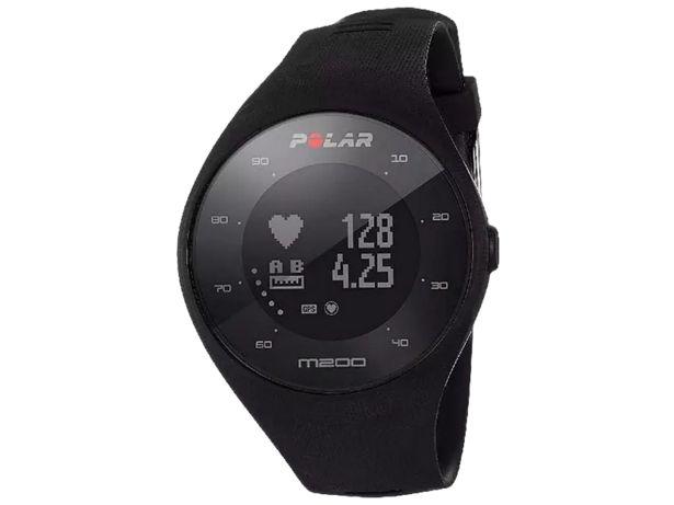 Oferta de Reloj deportivo - Polar M200, Negro, GPS, Pulsómetro, Bluetooth, Talla M/L por 101,32€