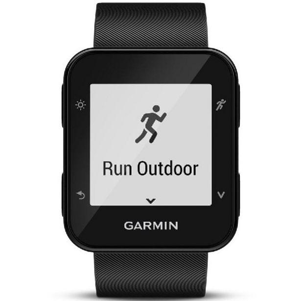 Oferta de Reloj deportivo - Garmin Forerunner 35, Negro, GPS, Pulsómetro, Garmin Connect por 139€