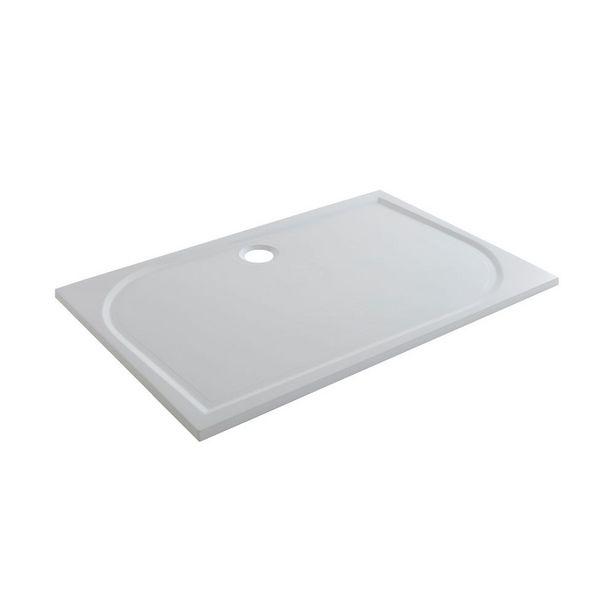 Oferta de Plato de Ducha Mineral Limsky Blanco 70x120 cm por 119€