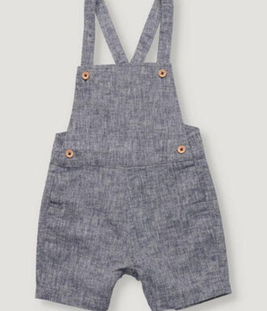 Oferta de Peto de bebe unisex en color azul marino. por 19,5€