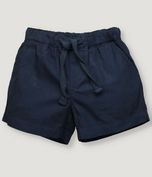 Oferta de Pantalón corto de niño en color azul marino. por 19,5€