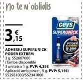 Oferta de Adhesivos por 3,15€