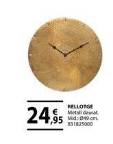 Oferta de Reloj de pared por 24,95€