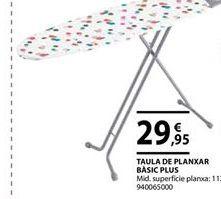 Oferta de Tabla de planchar por 29,95€