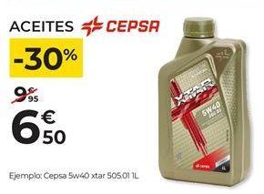 Oferta de Aceites y líquidos Cepsa por 6,5€