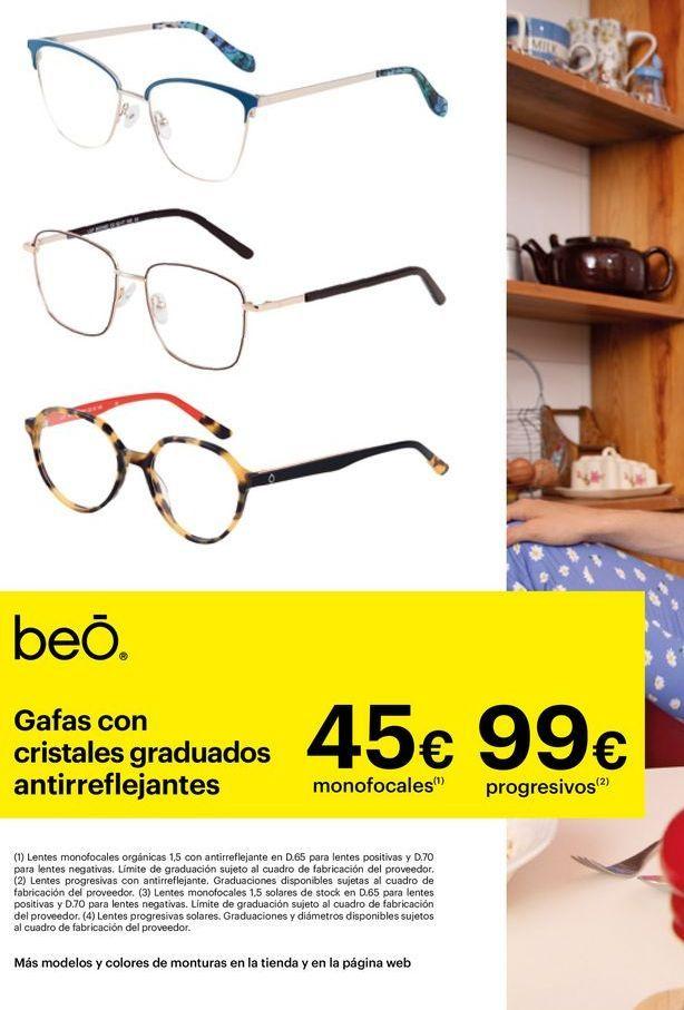 Oferta de Gafas graduadas por 45€