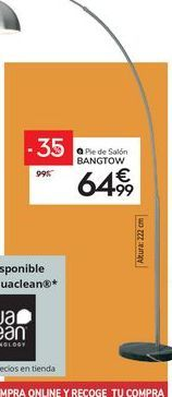 Oferta de Pie de salón BANGTOW por 64,99€