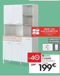 Oferta de Buffet CUSINE por 199€