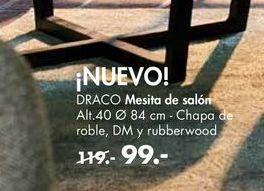 Oferta de Mesita de noche DRACO  por 99€