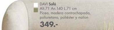Oferta de Sofás DAVI por 349€