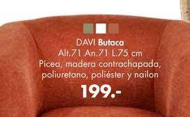 Oferta de Butaca DAVI por 199€