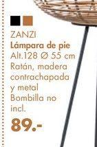 Oferta de Lámpara de pie ZANZI por 89€