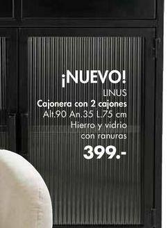Oferta de Cajonera con 2 cajones LINUS  por 399€