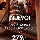 Oferta de Consolas CHAREL  por 279€