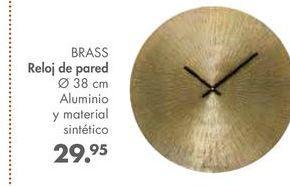 Oferta de Reloj de pared BRASS por 29,95€