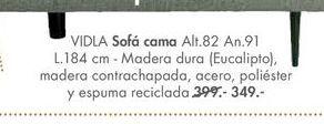 Oferta de Sofá cama VIDLA por 349€