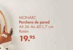 Oferta de Perchero de pared MONARC  por 19,95€