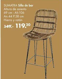 Oferta de Silla de bar sumatra  por 119,2€