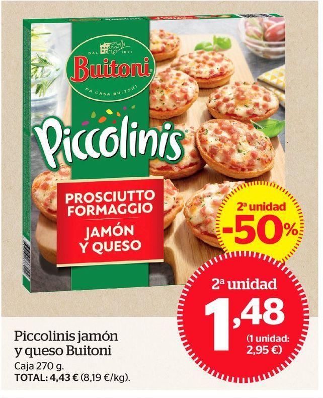 Oferta de Piccolinis Buitoni por 1,48€