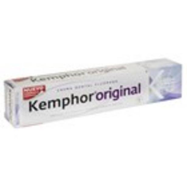 Oferta de Dentifrici KEMPHOR, tub 75 ml. por 1,55€