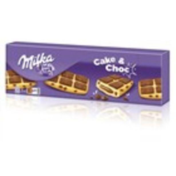 Oferta de Galeta xoco cake MILKA, paquet 175 grams por 1,95€