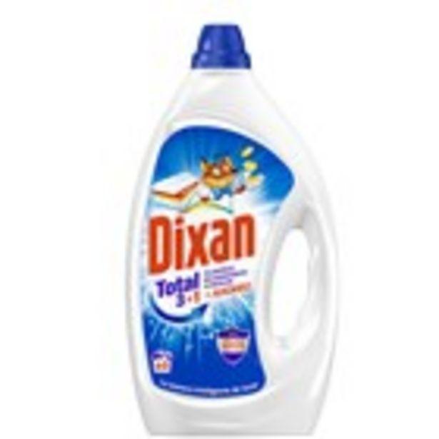 Oferta de Detergent gel blau DIXAN, 60 mesures 3.96 litres por 5,99€
