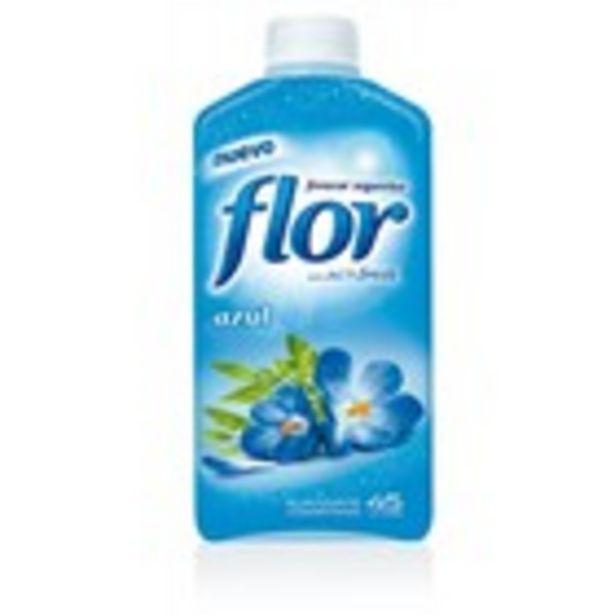 Oferta de Suavitzant concentrat FLOR Blau, ampolla 1,25 litres por 1,99€