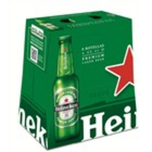 Oferta de Cervesa HEINEKEN, pack 6 ampolles 1.500 ml. por 3,45€