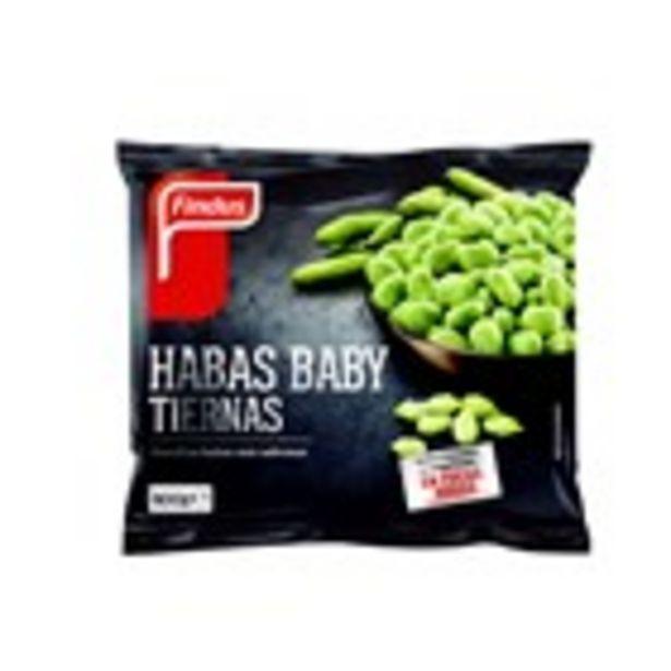 Oferta de Faves baby FINDUS, bossa 400 grams por 3,65€