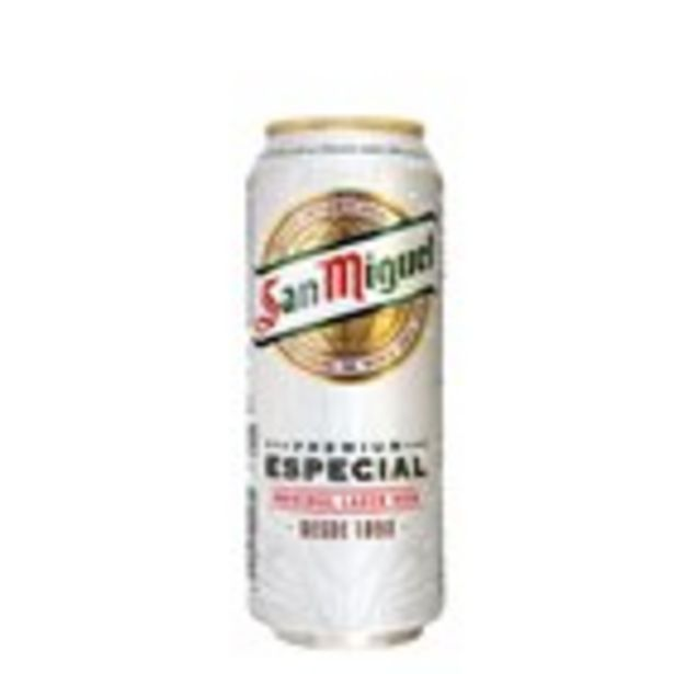 Oferta de Cervesa SAN MIGUEL, llauna 50 cl. por 0,72€