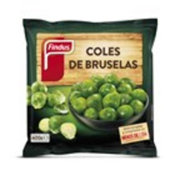Oferta de Cols de brusel·les FINDUS, paquet 400 grams por 1,79€