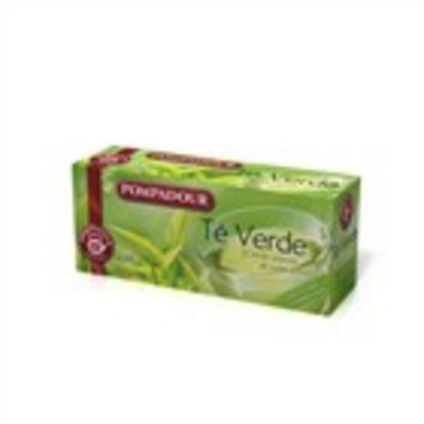 Oferta de Te verd POMPADOUR, 25 bossetes 37,5 grams por 1,79€