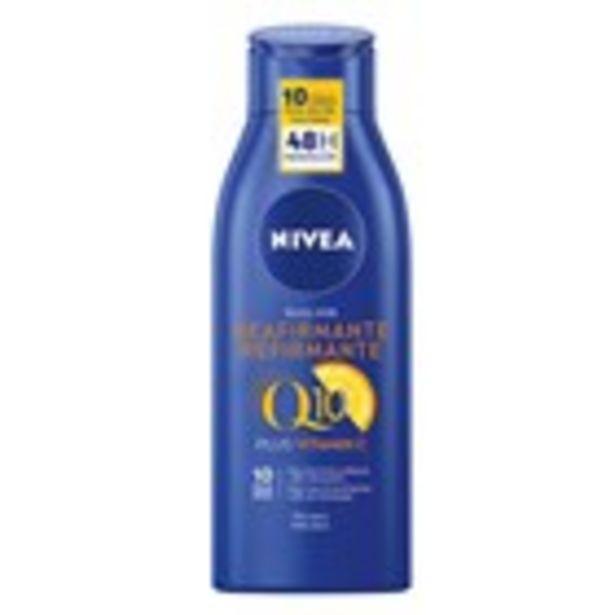 Oferta de Llet corporal reafirmant NIVEA, ampolla 400 ml. por 4,99€