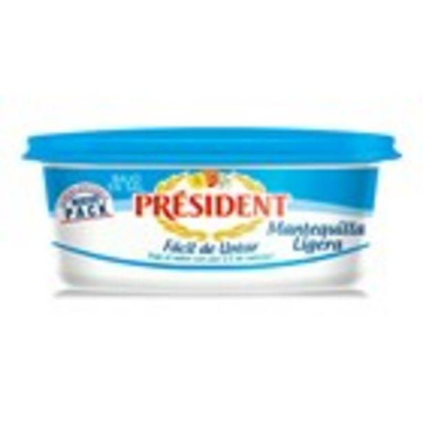 Oferta de Mantega lleugera PRESIDENT, terrina  250 grams por 2,39€