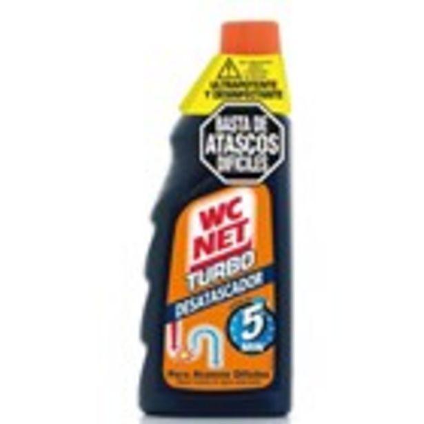 Oferta de Desembossador WC NET turbo gel ampolla, 500 ml por 4,39€