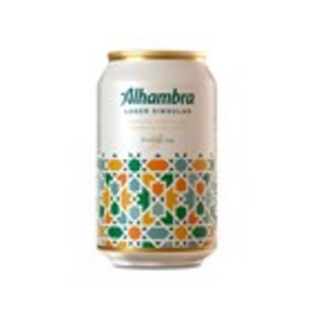 Oferta de Cervesa singular ALHAMBRA, llauna 33 cl por 0,58€