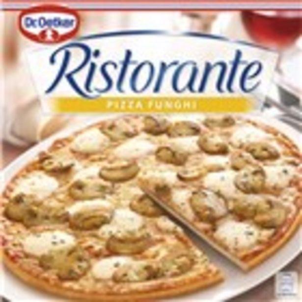 Oferta de Pizza funghi RISTORANTE, envàs 365 grams por 2,95€