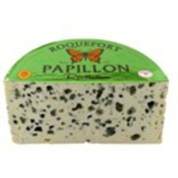 Oferta de Formatge D.O.P. Roquefort vermell Papillon por 22,9€