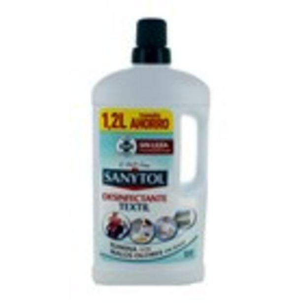 Oferta de Aditiu desinfectant tèxtil SANYTOL, 1.20 l por 5,25€