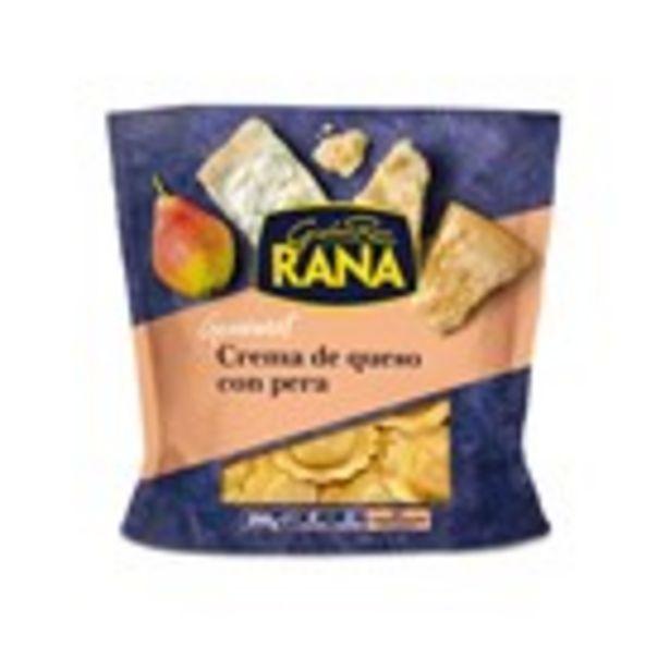 Oferta de Raviolis farcits de pera i formatge RANA, paquet 250 grams por 2,61€