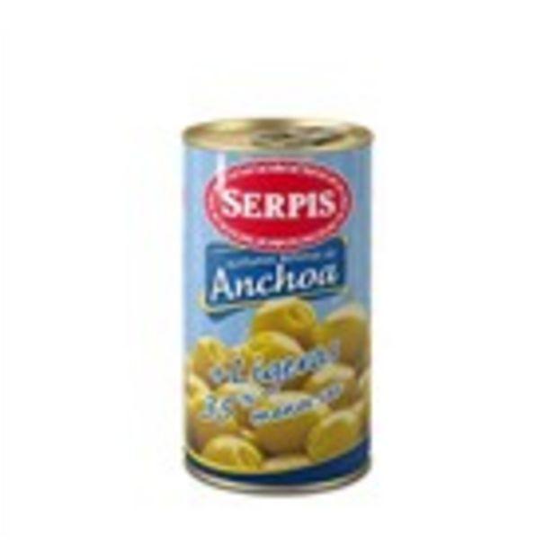 Oferta de Olives baixes en sal SERPIS, llauna 150 grams por 1,27€