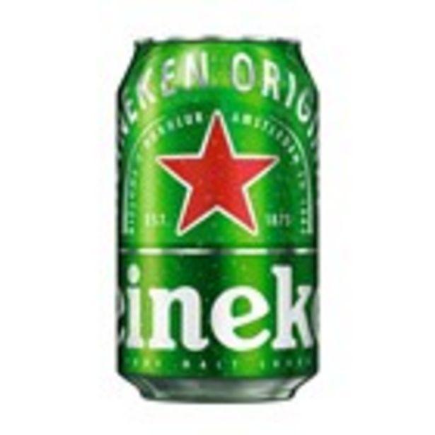 Oferta de Cervesa HEINEKEN, llauna 33 cl. por 0,5€