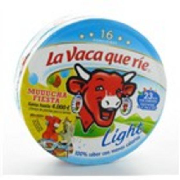 Oferta de Formatge fos light LA VACA QUE RIE, capsa 16 porcions 250 gr por 1,79€